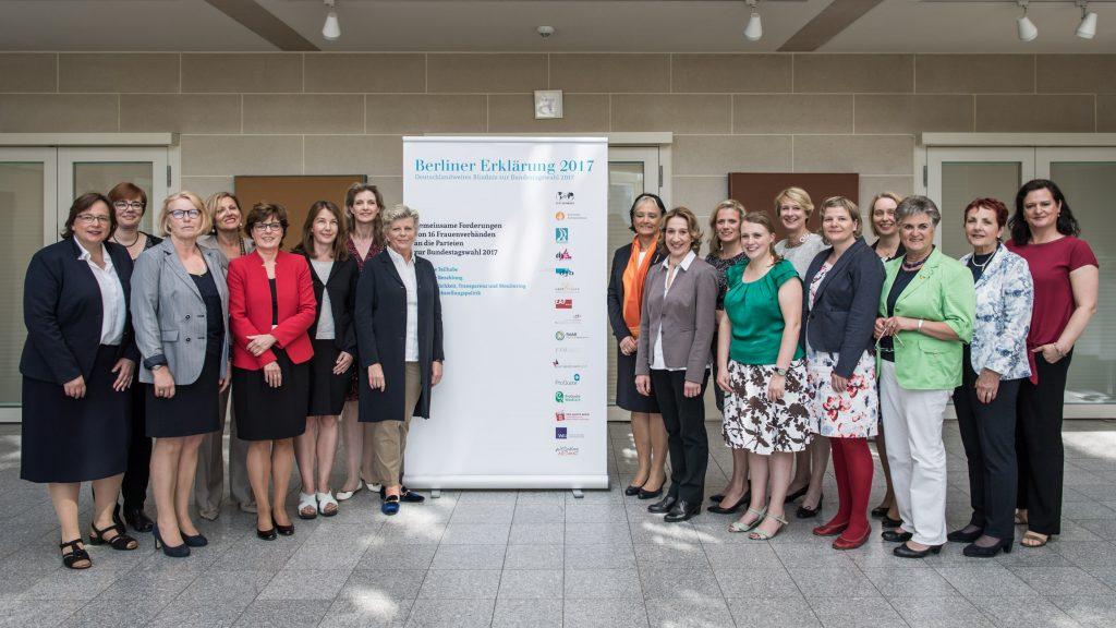 Berliner Erklärung 2017 Sondierungsgespräche Gleichstellungspolitik