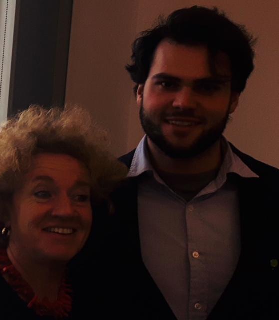 """Miriam Mason-Sesay, """"educAid"""" und Nicolas Aschoff, L'Appel Deitschland e.V."""