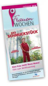 FrauenWochen Stadt Bad Oeynhausen – Veranstaltungsflyer