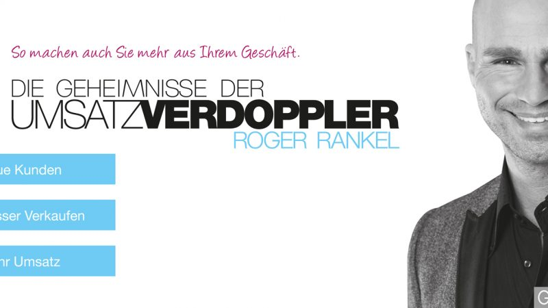 roger rankel umsatzverdoppler kundengewinnung marketing