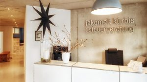 Steuerberatung Jakomeit-Kürbis – Eingang