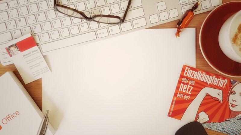 Business Talk Home Office, Bürogemeinschaft oder Coworking Space