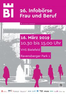 Infobörse Frau und Beruf 2019 – Plakat