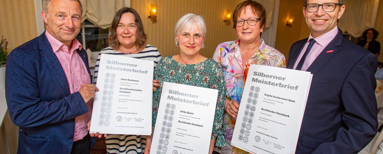 Buchbinder Druckerei Matz silbernes Meisterjubiläum