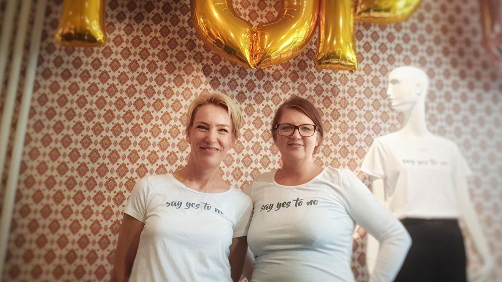 Zonta Club Bielefeld - Kampagne say yes to no