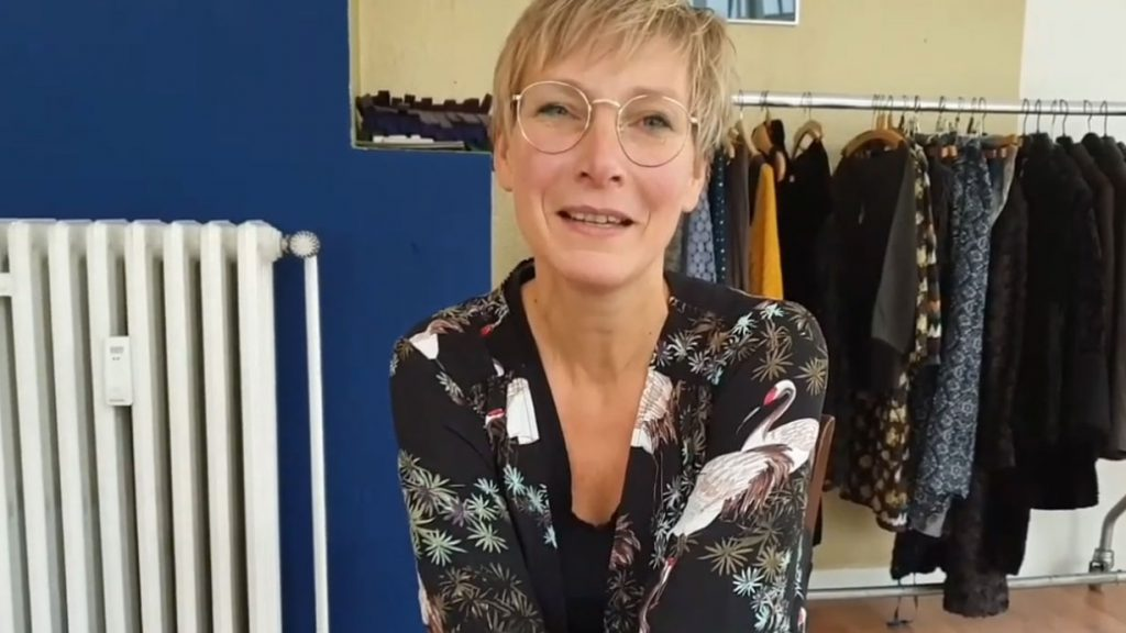 Ewa Baetz eröffnet Second Hand Shop in Bielefelder Altstadt