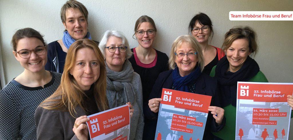 Gleichstellungsstelle Bielefeld Frauenbüro Infobörse Frau und Beruf OWL