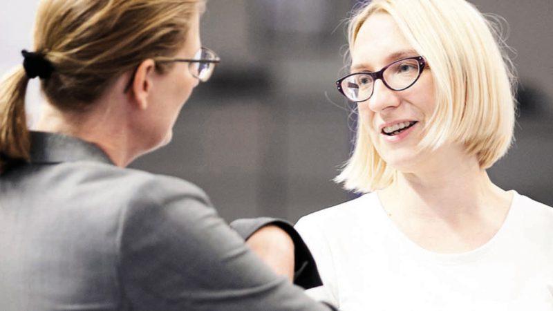 Gründerinnen Akquise Michaela Heinze Kompetenzzentrum Frau und Beruf OWL