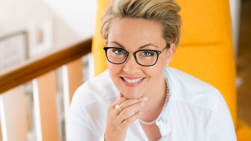 Kniggetrainerin Birte Steinkamp Business Knigge
