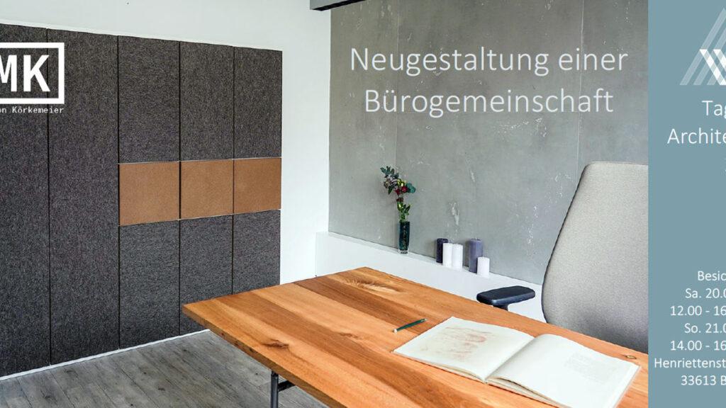 Tag der Architektur 2020 Neugestaltung Bürogemeinschaft nette30 Bielefeld