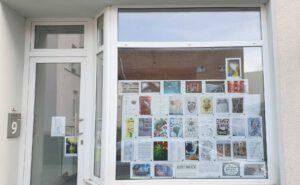 Fensterausstellung Raumstation Imke Brunzema