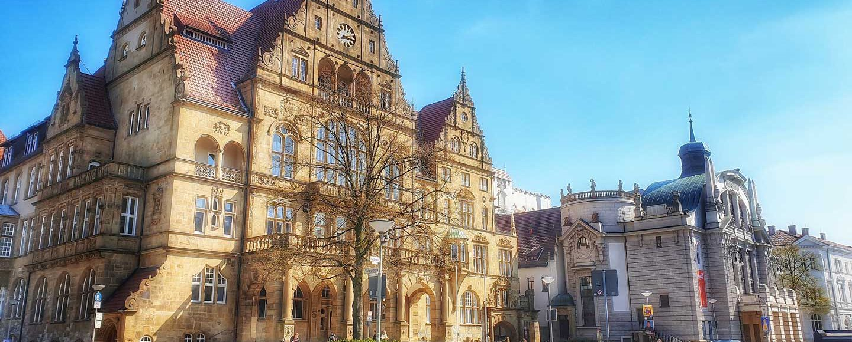 Frauenstadtrundgang Bielefeld Internationaler Frauentag